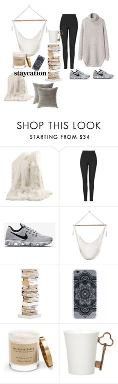 """#25"" by jenell20 on Polyvore featuring Best Home Fashion, Topshop, NIKE, Opinion Ciatti, Burberry, Gary Birks Design and Jiti"