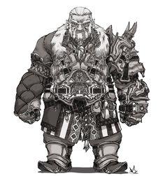 Dwarf by DavidSequeira.deviantart.com on @DeviantArt