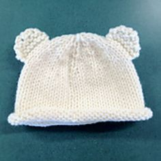 Baby Bear Hat - Free Pattern - Ravelry