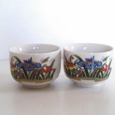 Vintage Japanese Finger Bowls Sake Cups Teacup by VintageByRobin