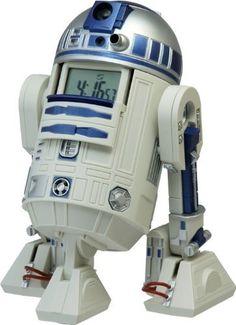 Rhythm Watch Star Wars action alarm clock for sale online Izuku Midoriya Cosplay, Talking Alarm Clock, Star Wars Bedroom, Star Wars Watch, Unusual Clocks, Clocks For Sale, Its A Mans World, Cool Lego Creations, R2 D2