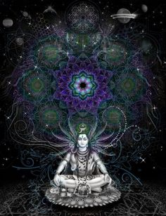 There are many things that are unique to Shiva and among all the gods, he stands out for being extremely different and is therefore popularly known as Mahadev. Shiva and asceticism Shiva Art, Shiva Shakti, Hindu Art, Tachisme, Lord Shiva, Psy Art, Hindu Deities, Indian Gods, Visionary Art