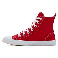 Women's Lux High Top Sneakers - Mossimo Supply Co. Red 11