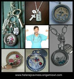 Nurses #1 Items can be ordered on www.collectedcharms.origamiowl.com
