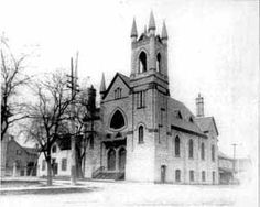 """Trinity Methodist Church - """"Dungarvon Company"""" - Almonte, Ontario - not used anymore. Old Churches, Church Building, Place Of Worship, Ottawa, Mississippi, Ontario, Pump, Places To Go, Canada"""