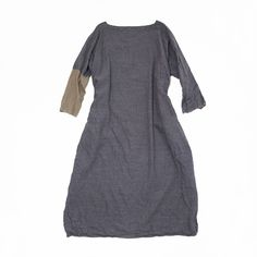 daniela gregis - grey x beige dress