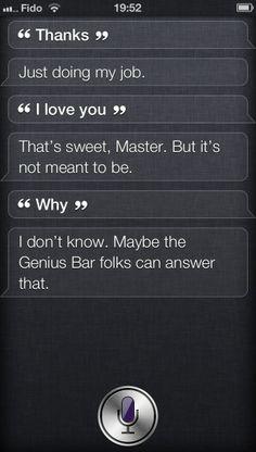 Friendzoned by Siri
