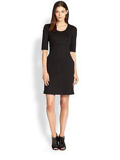 Burberry Brit - Mimi Sheath Dress - Saks.com  not sure about the exposed zipper