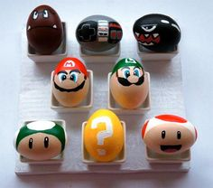 Mario Bros Easter Eggs!