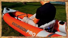 INTEX Excursion PRO Kayak Review ( The Best Inflatable Kayak ) Inflatable Kayak, Kayaking, Good Things, Youtube, Kayaks, Youtubers, Youtube Movies