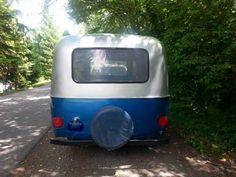 Aluminum blue boler rear.