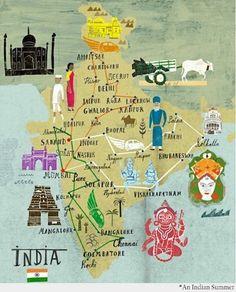 OH INDIA! #maps #mapofindia #culture #india #cultureofindia #indianroots #diverseindia #matterplatter