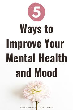 How can you naturally improve your mental health? Are you struggling with emotions, anxiety, or worry? Find out how you can naturally improve your mental health and mindset to create more happiness.