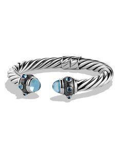 David YurmanRenaissance Bracelet with Blue Topaz