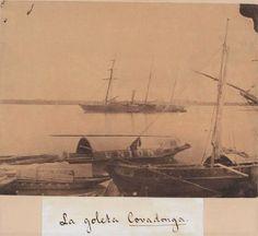La Goleta Covadonga, 1862-1865