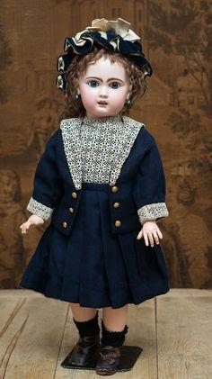 74 см Кукла Jumeau bebe Moderne в оригинальной коробке - на сайте антикварных кукол.