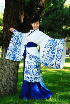 Chinese dress - hanfu                                                                                                                                                      More