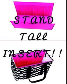 Stand Tall Insert for your favorite Large Utility Tote! Only for December Hosts!