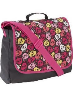 Messenger bag... but was declared for teenagers.