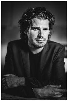 Stefan Vanfleteren (1969) - Flemish photographer, mostly in black&white. Portrait by Jesse Willems