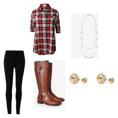 """""""Autumn Outfit"""" by ashleighaliff ❤ liked on Polyvore featuring Max Studio, LE3NO, Express and Adele Marie"""