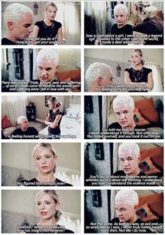 Buffy and Spike GIFset