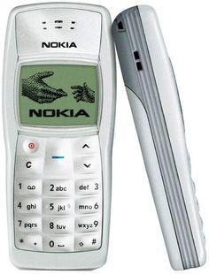 2005 - Nokia 1100 (first work phone)