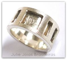 Anel em prata 950 (950 silver ring)