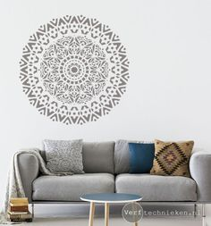Home Decoration Sale Clearance Info: 4532809518 Contemporary Interior Design, Wall Patterns, House In The Woods, Ibiza, Home Goods, Master Bedroom, Mandala, Throw Pillows, Boho