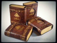 Call of Cthulhu leather journal (6.5 x 5.5 in) by alexlibris999.deviantart.com on @deviantART