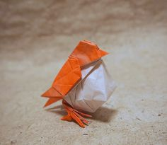 【Origami】Little Bird