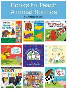 9 Books to Help Your Children Learn Animal Sounds (Interactive Children's Books Included)