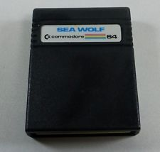 Commodore 64/128: SEA WOLF - C64 Cartridge - tested - FREE Shipping Wolf, Card Holder, Sea, Free Shipping, Cards, Rolodex, Wolves, The Ocean, Ocean