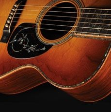 I would cut my left leg off to get a Martin Guitar, the best guitars in the whole world. Beautiful.