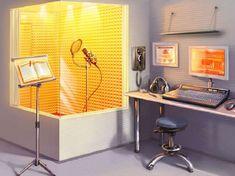 Home Recording Studio Setup, Home Studio Setup, Music Studio Room, Music Rooms, Studio Ideas, Studio House, Studio Room Design, Architecture Design, Trendy Home