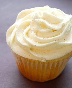 Starbucks copycat Vanilla Bean cupcake recipe OH MY GOD!!