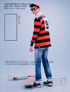 hardboiled comics 2016 S/S Lookbook - Skateboard Team Kenny 70년대의 보드 문화를 바탕으로 제작한 S/S 시즌