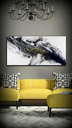 Moderna pintura acrílica pintura GICLEE Print por LDawningScott