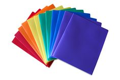 Heavy Duty Plastic Folder Assorted Pack of 12  #WorkColorfully #Stemsfx