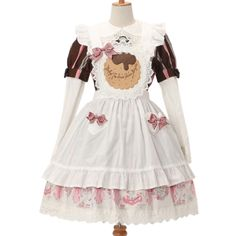 http://www.wunderwelt.jp/products/detail4937.html ☆ ·.. · ° ☆ ·.. · ° ☆ ·.. · ° ☆ ·.. · ° ☆ ·.. · ° ☆ Marchin 'Chocolate Cookie apron BABY THE STARS SHINE BRIGHT ☆ ·.. · ° ☆ How to order ☆ ·.. · ° ☆  http://www.wunderwelt.jp/blog/5022 ☆ ·.. · ☆ Japanese Vintage Lolita clothing shop Wunderwelt ☆ ·.. · ☆ # egl