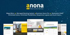 Anona - Pest Control WordPress Theme (WordPress, Corporate, Business)