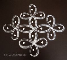 Very Easy And Simple Rangoli Design Easy Rangoli Designs Diwali, Indian Rangoli Designs, Simple Rangoli Designs Images, Rangoli Designs Latest, Free Hand Rangoli Design, Rangoli Border Designs, Small Rangoli Design, Rangoli Patterns, Rangoli Ideas