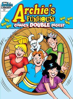 Archie's Funhouse Comics Double Digest #17 #Archie Release Date; 11/25/2015