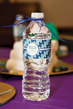 Nile Water.  Jewel of the Nile Egyptian Spa Party by Banner Events as seen on HWTM
