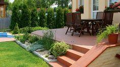 Máme-li dokončený dům včetně terasy, je začátek jara vhodný k úvahám o založení zahrady.