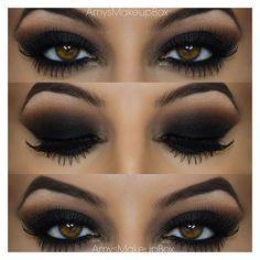 Augen Make Up Dunkel #augen #augenmakeup #dunkel