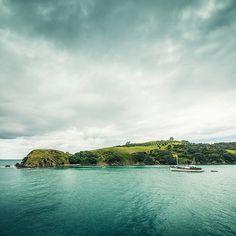 Waiheke Island New Zealand - one of the many islands of the Hauraki Gulf