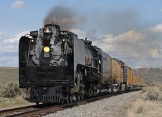 UP 844 flying into Elko | Flickr - Photo Sharing!