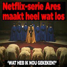 Netflix-serie 'Ares' maakt heel wat los - Ditjes & Datjes Netflix, Amsterdam, January, Horror, Film, Movie Posters, Movies, Movie, 2016 Movies