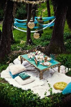 Outdoor Tea Party